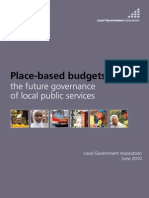 Place-Based Budgets - The Future of Governance of Local Public Services - LGA - June 2010