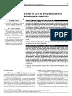 Riesgos Asociados Al Uso de Benzodiazepinas