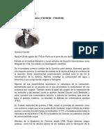 Biografia e Imagenes de Quimica
