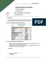 Reporte de Stock 25-05-18