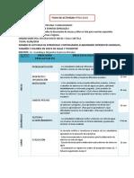 FICH DE ACTIVIDAD N° 016