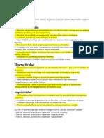 Criterios Cie 10 Tdah