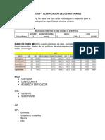Identificacion y Clasificacion de Los Materiales