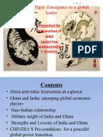 Dragon vs Tiger- Emergence as a Global Leader- NAGA