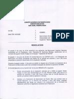 Resolucion Emitida Comite Ejecutivo de COPUR en el Caso de Walter Hodge (Junio 13, 2018)