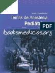 Temas de Anestesia Pediatrica