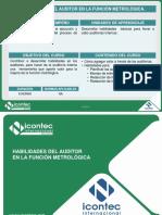 131v10-V1 Habilidades Del Auditor en La Función Metrológica