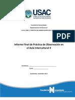 Informe Practica Obs II 2017 Modelo