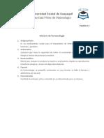 Glosario de farmacología