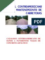 Catalogo Centroamericano de daños a pavimentos