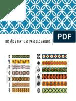 Diseños Textiles Precolombinos
