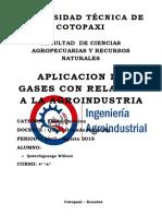 Gases en La Agroindustria