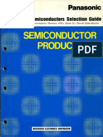 1990 Panasonic Semiconductors Selection Guide