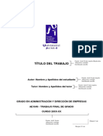 Modelo de Las Normas de Estilo y Formato Del TFG (1)