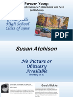 Obituaries and Pictures GFHS