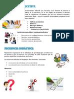 Infografía Planeacion y Secuencias Didácticas