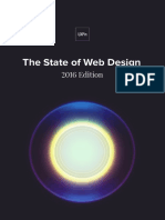 The State of Web Design– 2016 Edition