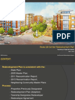 East Brunswick Redevelopment Plan
