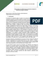 El Agua en La Economia Circular Un Analisis de Las Inversiones Europeas en Tratamiento de Aguas Residuales