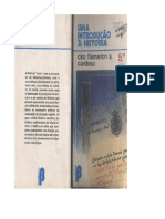 CARDOSO, Ciro Flammarion. Uma introdução à história.pdf
