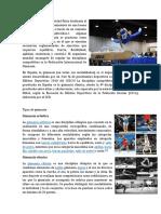 La Gimnasia Es Una Actividad Física Destinada Al Fortalecimiento y Mantenimiento de Una Buena Forma Física Del Cuerpo a Través de Un Conjunto de Ejercicios Establecidos