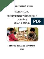 Plan Anual de Crecimiento y Desarrollo