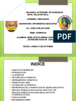 10.- Presentación Ofimatica