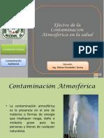 Efectos de La Contaminacion Atmosferica