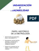 3.- Estandarizacion y Trazabilidad en Quimica Clinica