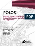 Injusticias Ambientales e Industrializacion Petrolera en Argentina