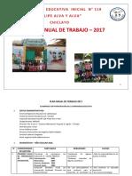 2017 Plan Anual de Trabajo