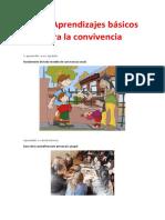 LOS 7 APRENDIZAJES BASICOS PARA LA CONVIVENCIA
