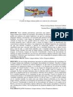 O Ensino de Lingua Italiana Padrao Em Contextos de Colonizacao