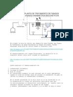 Diseño de Planta de Tratamiento de Fangos Activados Usando Parámetros Biocinéticos