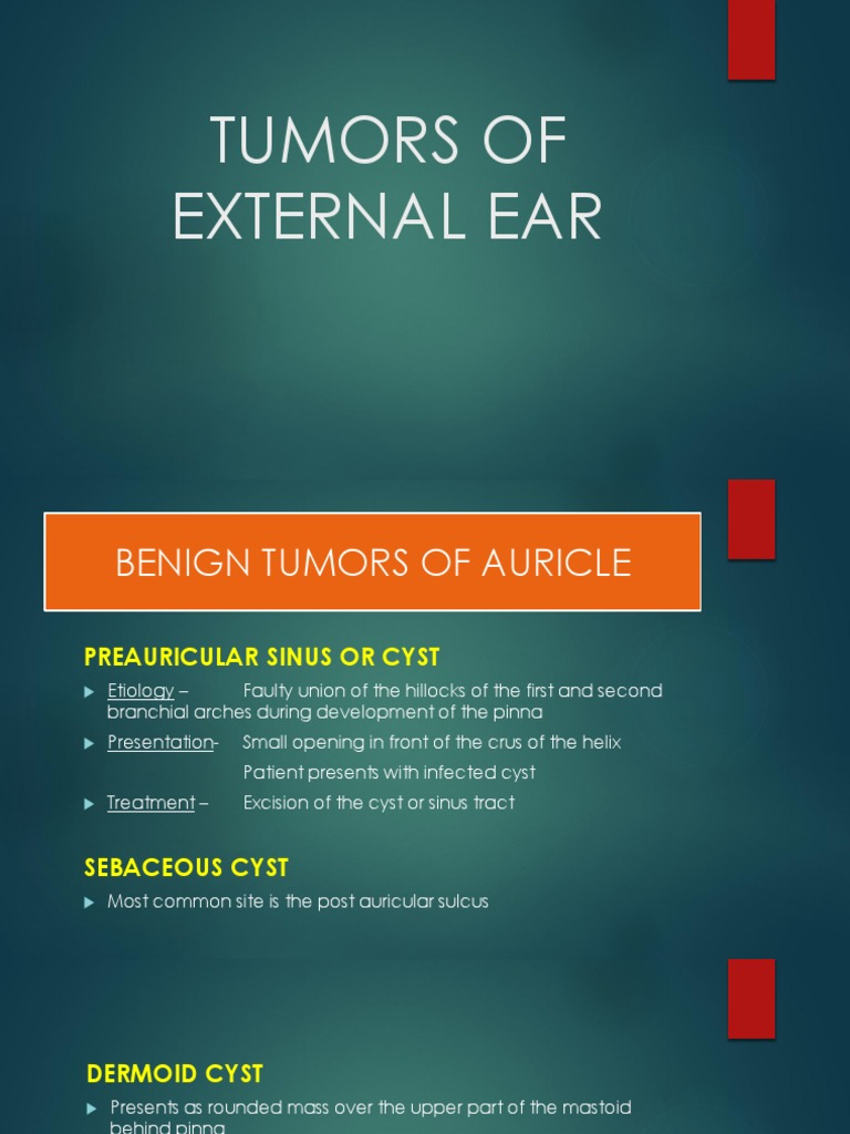 Tumors of External Ear | Neoplasms | Adenoma