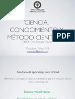 Clase n4, Ciencia, Conocimiento y Metodo Cientifico