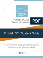 Ccsp Exam Outline | Cloud Computing | Identity Document