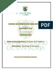 Definiciones y Cronograma Ccld 2014