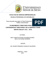 TESIS FINAL - PLANEAMIENTO TRIBUTARIO PARA EVITAR CONTINGENCIAS TRIBUTARIAS EN LA EMPRESA TRANS S.pdf