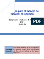 3A-100000N01I El Resumen (Diapositivas) 2018-1