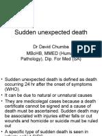 Sudden Unexpected Death FMT 400