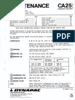 CA25 II - Maintenance manual (m-10200en).pdf