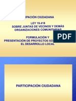 1-B=  participacion ciudadana