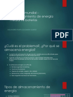 Contexto Almacenamiento de Energia en Baterias