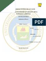 Informe Placeres Prueba Fuego