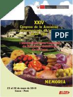 Alap2010-Memorias XXIV Congreso ALAP - 2010