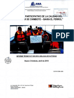 RESULTADOS DE MONITOREO PARTICIPATIVO DE LA CALIDAD DEL AGUA-2018