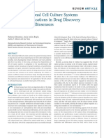 Three-Dimensional Cell Culture Systems and Their Applications in Drug Discovery and Cell-Based Biosensors