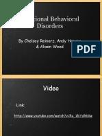 Emotional Behavioral Disorders