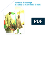 Signature de la convention de jumelage entre la commune Niamey II et la Commune de Kara